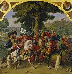 Hieronymus Hess: Die Ermordung König Albrechts I. (1255 - 1308) durch seinen Neffen J. Parricid