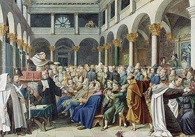 Hieronymus Hess: Judenpredigt in Rom