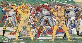 Ferdinand Hodler: Die Schlacht bei Näfels