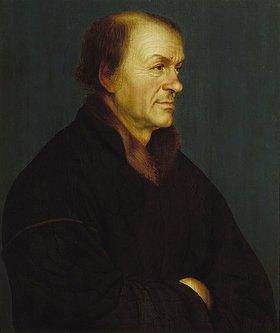 Hans Holbein d.J.: Bildnis des Buchdruckers Johann Froben