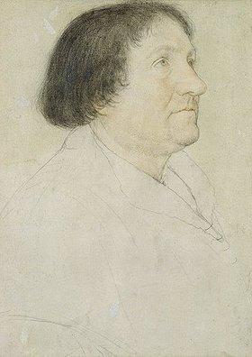 Hans Holbein d.J.: Bildnis des Jakob Meyer zum Hasen. Skizze zur sogen.Darmstädter Madonn