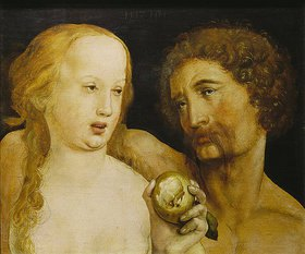 Hans Holbein d.J.: Adam und Eva