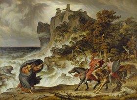 Joseph Anton Koch: Macbeth und die drei Hexen