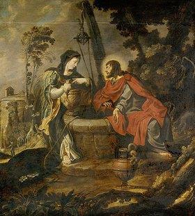 Pieter Lastman: Christus und die Samariterin