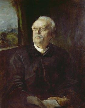 Franz von Lenbach: Conrad Ferdinand Meyer, Bildnis