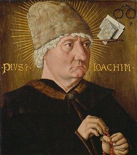 Oberdeutscher Meister: Bildnis eines alten Mannes (Pius Ioachim)