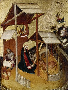 Oberrheinische Schule: Geburt Christi