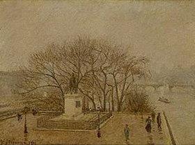 Camille Pissarro: Denkmal Heinrichs IV. und Pont des Arts in Paris