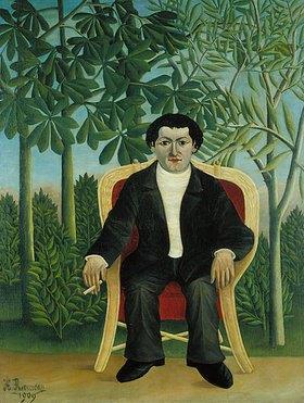 Henri Rousseau: Portrait von Joseph Brummer