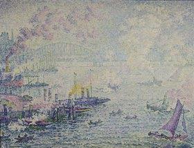 Paul Signac: Schiffe im Hafen