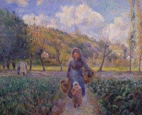 Camille Pissarro: Im Gemüsegarten