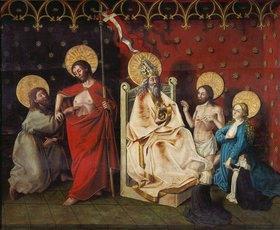Konrad Witz: Christus und der ungläubige Thomas