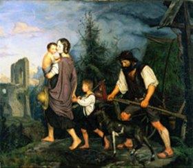 Rudolf Friedrich Wasmann: Heimkehr von der Arbeit