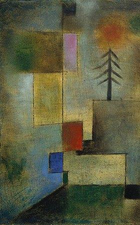 Paul Klee: Kleines Tannenbild. 1922