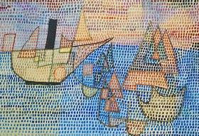 Paul Klee: Dampfer und Segelboote