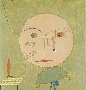 Paul Klee: Irrung auf Grün. 1930. (3404)