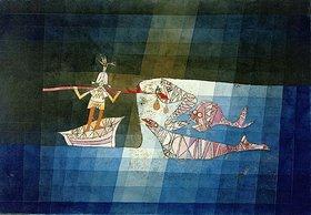 Paul Klee: Kampfszene aus der komisch - phantastischen Oper Der Seefahrer
