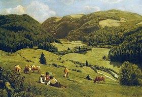 Hans Thoma: Das Albtal bei St. Blasien