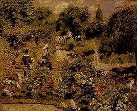 Auguste Renoir: Garten in Fontenay