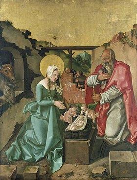 Hans Baldung (Grien): Die Geburt Christi