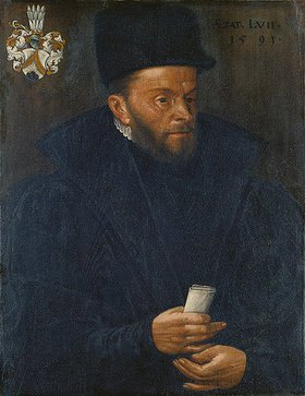 Hans Bock d.Ä.: Bildnis des Basilius Amerbach
