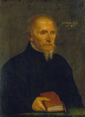 Hans Bock d.Ä.: Bildnis des Rektors Thomas Platter