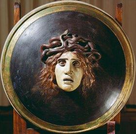 Arnold Böcklin: Schild mit Medusenhaupt