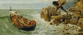 Arnold Böcklin: Odysseus und Polyphem