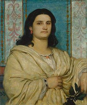 Arnold Böcklin: Bildnis der Frau Angelika Böcklin als Muse