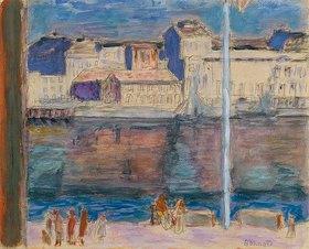 Pierre Bonnard: Der Hafen von St.Tropez