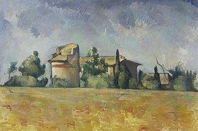Paul Cézanne: Das Taubenhaus von Bellevue (Le pigeonnier de Bellevue)