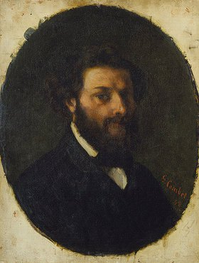 Gustave Courbet: Bildnis des Malers Jules Luntenschütz
