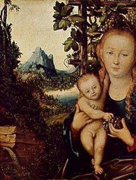 Lucas Cranach d.Ä.: Maria mit dem Kind