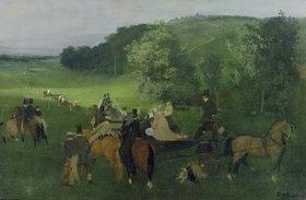 Edgar Degas: Auf dem Rennplatz