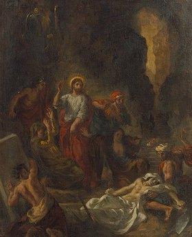 Eugene Delacroix: Die Auferweckung des Lazarus