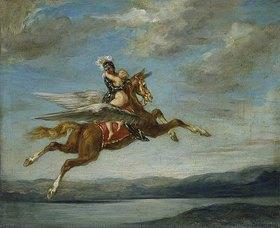 Eugene Delacroix: Roger und Angélique