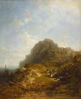 Carl Spitzweg: Bergwanderung