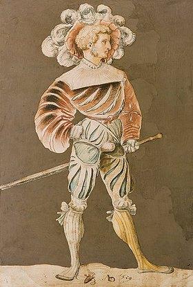 Niklaus Manuel I Deutsch: Schweizer Krieger