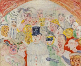 James Ensor: Die intrigierenden Masken