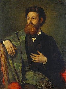 Anselm Feuerbach: Bildnis des Julius Allgeyer