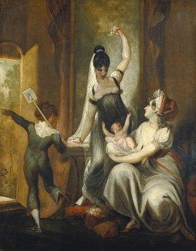 Johann Heinrich Füssli: Eine Mutter mit ihren Kindern auf dem Lande