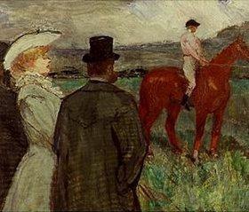 Henri de Toulouse-Lautrec: Beim Rennen