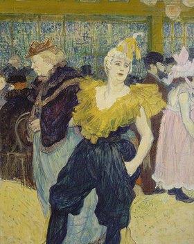 Henri de Toulouse-Lautrec: La Clownesse