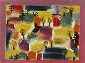 Paul Klee: Dorflandschaft