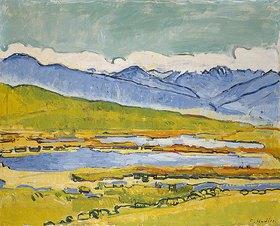 Ferdinand Hodler: Montanasee