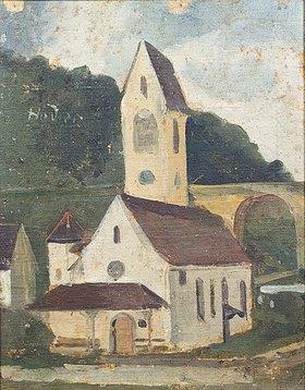 Ferdinand Hodler: Die Kirche von Rümligen