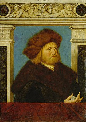 Hans Holbein d.Ä.: Bildnis eines 52-jährigen Mannes mit Pelzmütze (Philipp Adler)