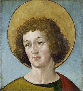 Hans Holbein d.J.: Kopf eines Heiligen