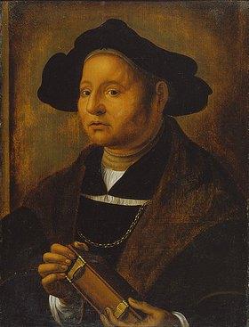 Hans Holbein d.J.: Bildnis eines Mannes mit Buch