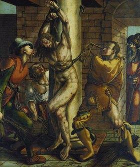 Hans Holbein d.J.: Die Geisselung Christi